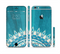 The Blue Spiked Orb Pattern V3 Sectioned Skin Series for the Apple iPhone 6s