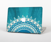 The Blue Spiked Orb Pattern V3 Skin for the Apple MacBook Pro 13""