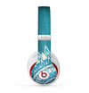 The Blue Spiked Orb Pattern V3 Skin for the Beats by Dre Studio (2013+ Version) Headphones