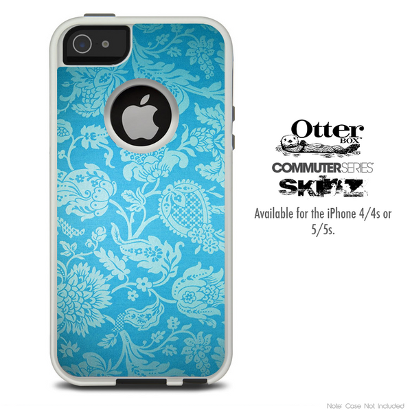 The Subtle Pink Ribbon Breast Cancer Awareness Skin For The iPhone 4-4s or 5-5s Otterbox Commuter Case