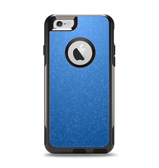 The Blue Subtle Speckles Apple iPhone 6 Otterbox Commuter Case Skin Set