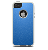 The Blue Subtle Speckles Skin For The iPhone 5-5s Otterbox Commuter Case