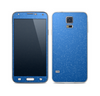 The Blue Subtle Speckles Skin For the Samsung Galaxy S5