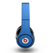 The Blue Subtle Speckles Skin for the Original Beats by Dre Studio Headphones