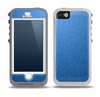 The Blue Subtle Speckles Skin for the iPhone 5-5s OtterBox Preserver WaterProof Case