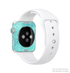 The Blue Swirled Abstract Design Full-Body Skin Kit for the Apple Watch