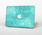 "The Blue Swirled Abstract Design Skin Set for the Apple MacBook Pro 15"" with Retina Display"