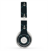 The Blue & Teal Vintage Solid Color Anchor Linked copy Skin for the Beats by Dre Solo 2 Headphones