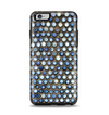 The Blue Tiled Abstract Pattern Apple iPhone 6 Plus Otterbox Symmetry Case Skin Set