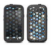 The Blue Tiled Abstract Pattern Samsung Galaxy S3 LifeProof Fre Case Skin Set