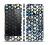The Blue Tiled Abstract Pattern Skin Set for the Apple iPhone 5