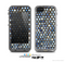 The Blue Tiled Abstract Pattern Skin for the Apple iPhone 5c LifeProof Case