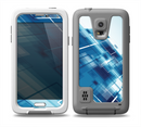 The Blue Transending Squares Skin for the Samsung Galaxy S5 frē LifeProof Case