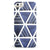 The Blue Triangluar Aztec Pattern iPhone 5/5s or SE INK-Fuzed Case