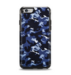 The Blue Vector Camo Apple iPhone 6 Otterbox Symmetry Case Skin Set
