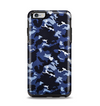 The Blue Vector Camo Apple iPhone 6 Plus Otterbox Symmetry Case Skin Set