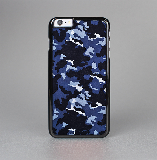 The Blue Vector Camo Skin-Sert Case for the Apple iPhone 6 Plus