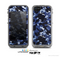 The Blue Vector Camo Skin for the Apple iPhone 5c LifeProof Case