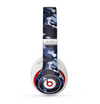 The Blue Vector Camo Skin for the Beats by Dre Studio (2013+ Version) Headphones