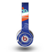 The Blue Vector Fish and Boat Pattern Skin for the Original Beats by Dre Wireless Headphones