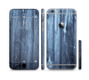 The Blue Washed WoodGrain Sectioned Skin Series for the Apple iPhone 6 Plus