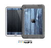 The Blue Washed WoodGrain Skin for the Apple iPad Mini LifeProof Case