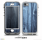 The Blue Washed WoodGrain Skin for the iPhone 5-5s NUUD LifeProof Case for the lifeproof skins
