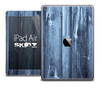 The Blue Washed Wood Skin for the iPad Air