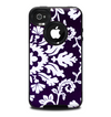 The Blue & White Delicate Pattern Skin for the iPhone 4-4s OtterBox Commuter Case