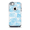 The Blue & White Seamless Ball IllustrationSkin for the iPhone 5c OtterBox Commuter Case
