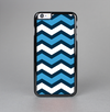 The Blue Wide Chevron Pattern Skin-Sert Case for the Apple iPhone 6 Plus