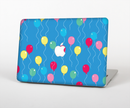 "The Blue With Colorful Flying Balloons Skin Set for the Apple MacBook Pro 15"" with Retina Display"