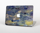 "The Blue & Yellow Abstract Oil Painting Skin Set for the Apple MacBook Pro 15"" with Retina Display"