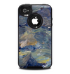 The Blue & Yellow Abstract Oil Painting Skin for the iPhone 4-4s OtterBox Commuter Case