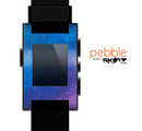 The Blue & Purple Pastel Skin for the Pebble SmartWatch