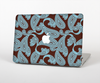 The Blue and Brown Paisley Pattern V4 Skin for the Apple MacBook Pro Retina 15""