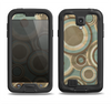 The Blue and Green Overlapping Circles Samsung Galaxy S4 LifeProof Fre Case Skin Set