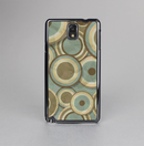 The Blue and Green Overlapping Circles Skin-Sert Case for the Samsung Galaxy Note 3