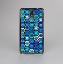 The Blue and Green Vibrant Hexagons Skin-Sert Case for the Samsung Galaxy Note 3