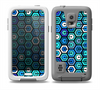 The Blue and Green Vibrant Hexagons Skin Samsung Galaxy S5 frē LifeProof Case