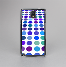 The Blue and Purple Strayed Polkadots Skin-Sert Case for the Samsung Galaxy Note 3