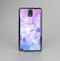 The Blue and Purple Translucent Glimmer Lights Skin-Sert Case for the Samsung Galaxy Note 3