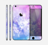 The Blue and Purple Translucent Glimmer Lights Skin for the Apple iPhone 6 Plus