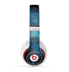 The Blue and Teal Painted Universe Skin for the Beats by Dre Studio (2013+ Version) Headphones