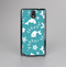 The Blue and White Cartoon Sea Creatures Skin-Sert Case for the Samsung Galaxy Note 3