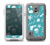 The Blue and White Cartoon Sea Creatures Skin Samsung Galaxy S5 frē LifeProof Case