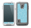 The Blue and White Twig Pattern Skin Samsung Galaxy S5 frē LifeProof Case