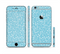The Blue and White Twig Pattern Sectioned Skin Series for the Apple iPhone 6s