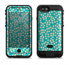 the blue and yellow floral pattern v43  iPhone 6/6s Plus LifeProof Fre POWER Case Skin Kit