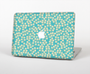 The Blue and Yellow Floral Pattern V43 Skin for the Apple MacBook Pro Retina 15""
